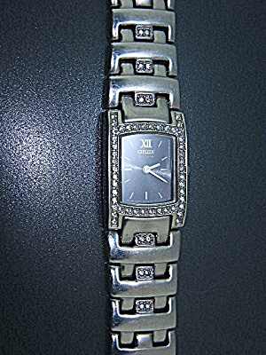 Wristwatch Citizen Eco Drive Crystal Face 7 Inches