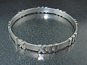 Tiffany & Co Atlas Bangle Bracelet Italy