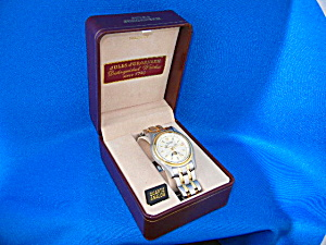 Wristwatch Jules Jurgenson Date With Original Box