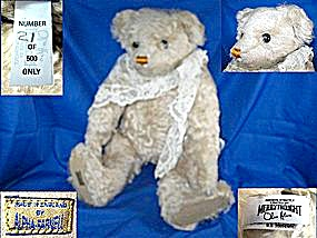 Teddy Bear, Merry Thoughts Limited Ed. By Alpha Farnell