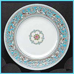 Wedgwood Florentine Turquoise Dinner Plate