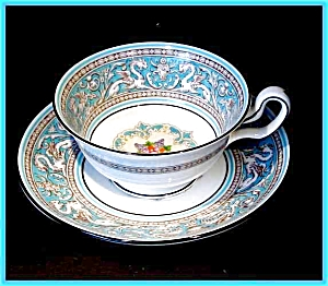 Wedgwood Florentine Cup & Saucer