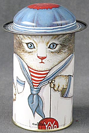 Kitty Cucumber Tin