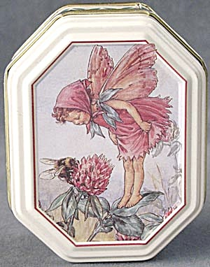 Flower Fairy With Bee Candy Tin