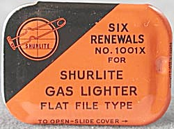 Vintage Shurlite Miniature Advertising Tin