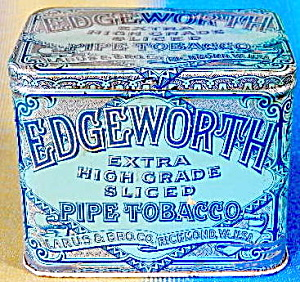 Vintage Edgeworth Slice Smoking Tobacco Tin