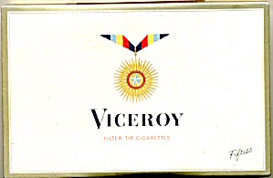 Viceroy Cigarettes Tin