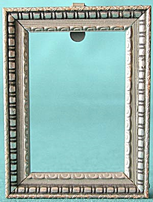 Vintage Small Silver Wood Frame