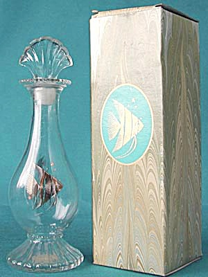 Avon Sea Fantasy Bud Vase In Original Box