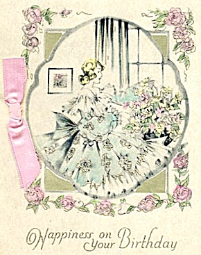 Vintage Birthday Card