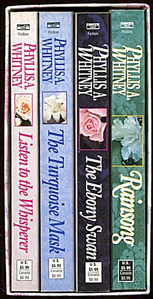 Set Of 4 Paperbacks In Slip Cover By Phyllis Whitney