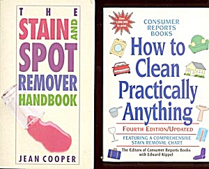 Two Household Cleaning Books