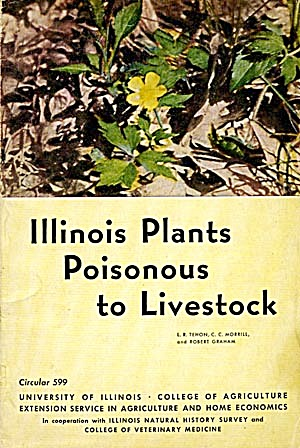 Illinois Plants Poisonus To Livestock