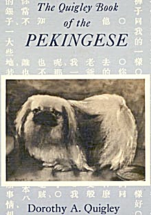 The Quigley Book Of The Pekingese