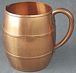Vintage West Bend Copper Pitcher