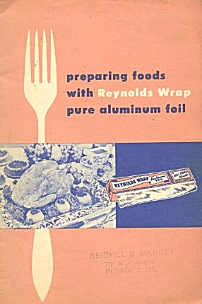 Preparing Foods With Reynolds Wrap Pure Aluminum Foil