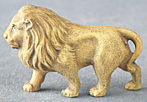 Vintage Celluloid Toy Lion Family Set Of 3