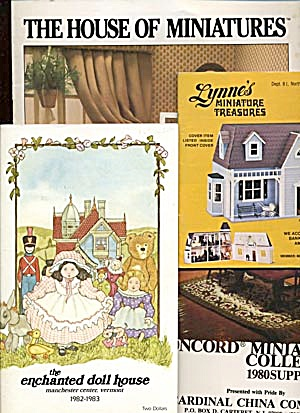 Vintage Catalogs For Doll Houses Miniatures