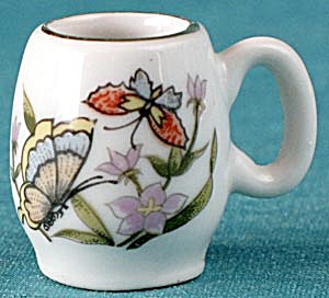 Doll Mug With Butterflies