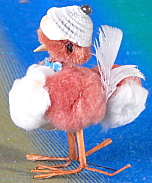 Vintage Easter Chenille Chickens