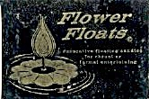 Flower Candle Floats & Viking Wick Floats