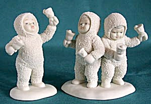 Retired Dept 56 Snowbabies: Let's All Chime In