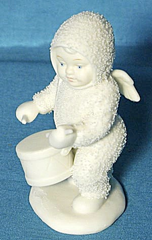 Retired Dept 56 Snowbabies: Shall I Play For You