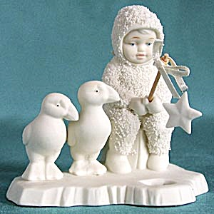Retired Dept 56 Snowbabies: Fishing For Dreams