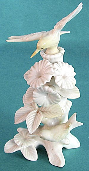 Vintage Humming Birds Perfume Bottle