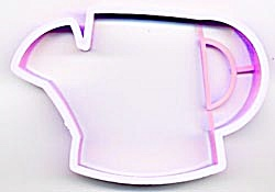 Hallmark Pink Garden Watering Can Cookie Cutter