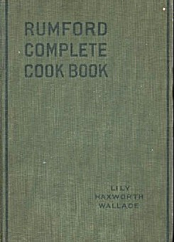 Rumford Complete Cook Book