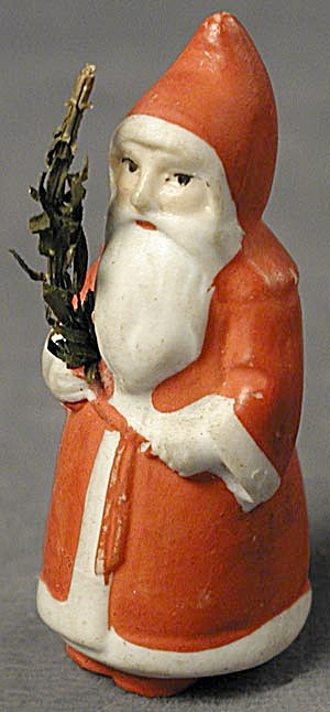 Antique German Bisque Santa Clause