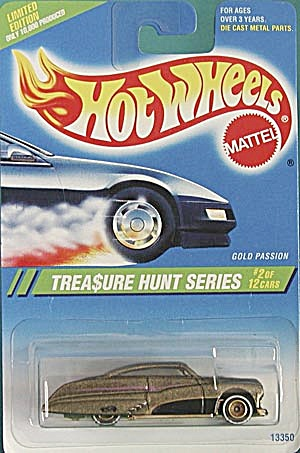 Hot Wheels #354 Gold Passion Treasure Hunt
