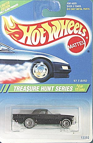Hot Wheels # 356 57 T-bird Treasure Hunt