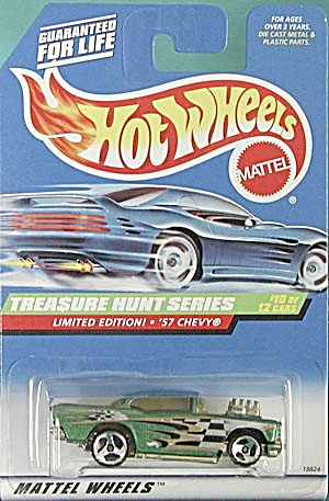 Hot Wheels # 758  '57 Chevy Treasure Hunt