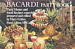 Bacardi Party Book