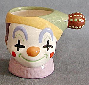 Vintage Clown Ceramic Mug 3d Face