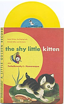 The Shy Little Kitten Little Golden Record