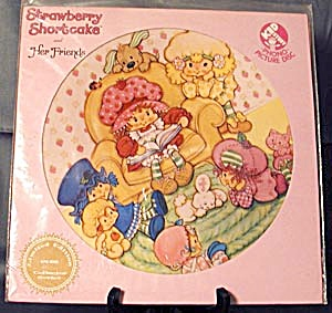 Vintage Strawberry Shortcake Picture Record