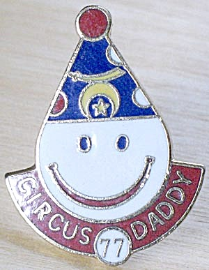 Vintage Shriners Circus Daddy Clown Pin