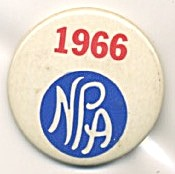 National Pigeon Association Member Badge Pinback