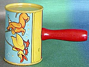 Vintage Duck And Dachshund Noise Maker