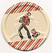 Cardboard Organ Grinder Coasters Set Of 10