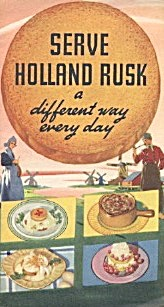Serve Holland Rusk A Different Way Every Day