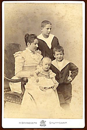 Vintage Photo Family Portrait