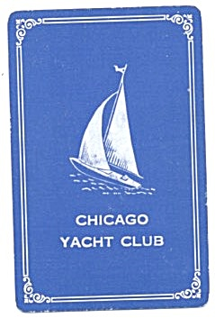 Chicago Yacht Club Playing Cards