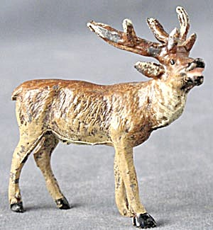Vintage German Lead Reindeer