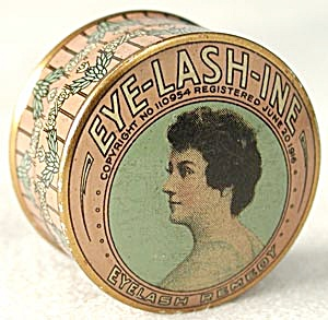Vintage Vanity Tin Eye-lash-ine Eyelash Remedy