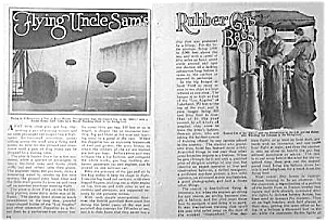 Great 1927 Us Blimps Mag. Article