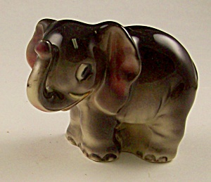Adorable Ceramic Elephant Figurine